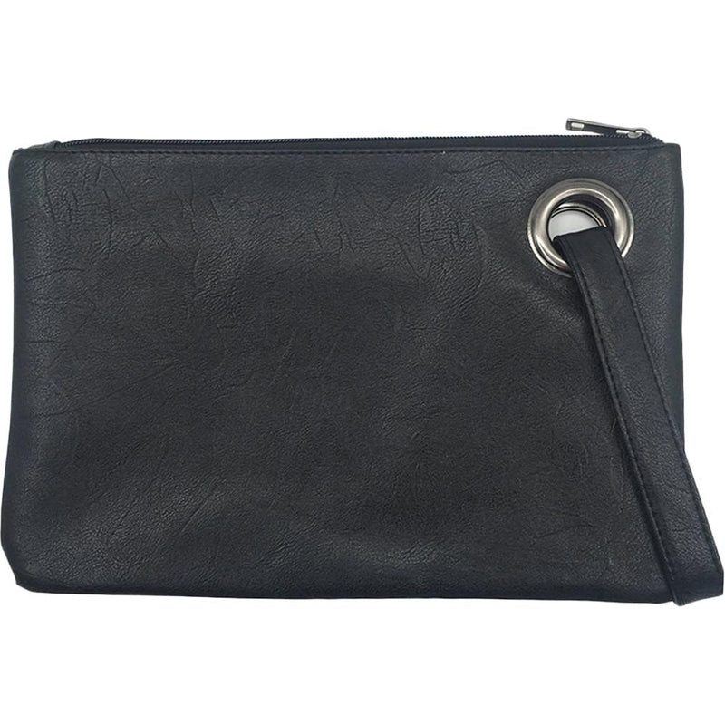 Fashion Solid Women's Envelope Bag Handbags & Wallets Black - DailySale