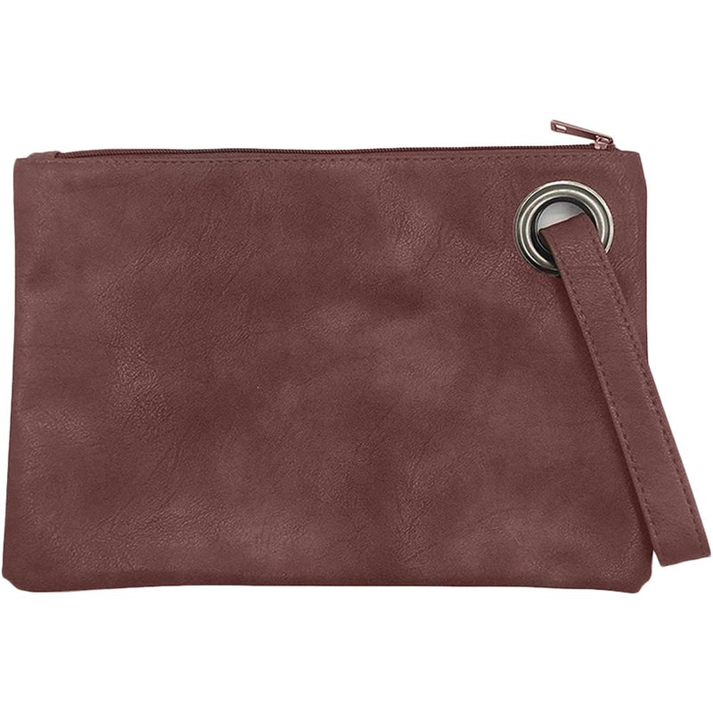 Fashion Solid Women's Envelope Bag Handbags & Wallets Brown - DailySale