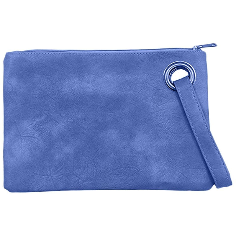 Fashion Solid Women's Envelope Bag Handbags & Wallets Denim Blue - DailySale