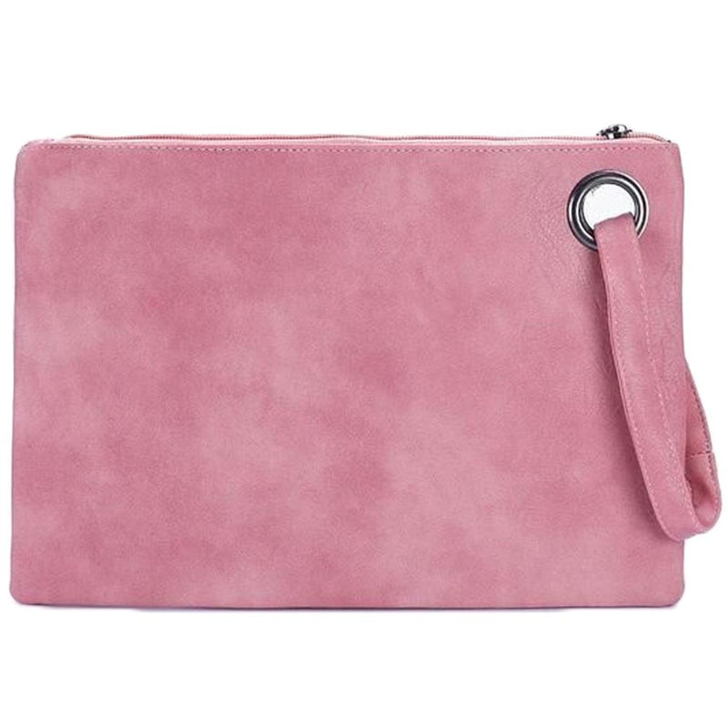 Fashion Solid Women's Envelope Bag Handbags & Wallets Light Pink - DailySale