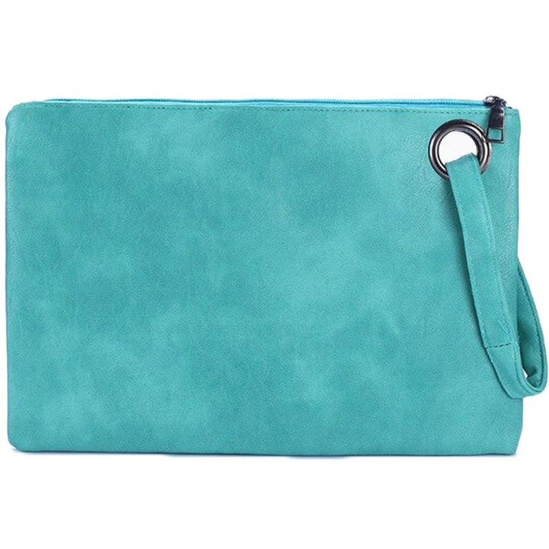 Fashion Solid Women's Envelope Bag Handbags & Wallets Mint - DailySale