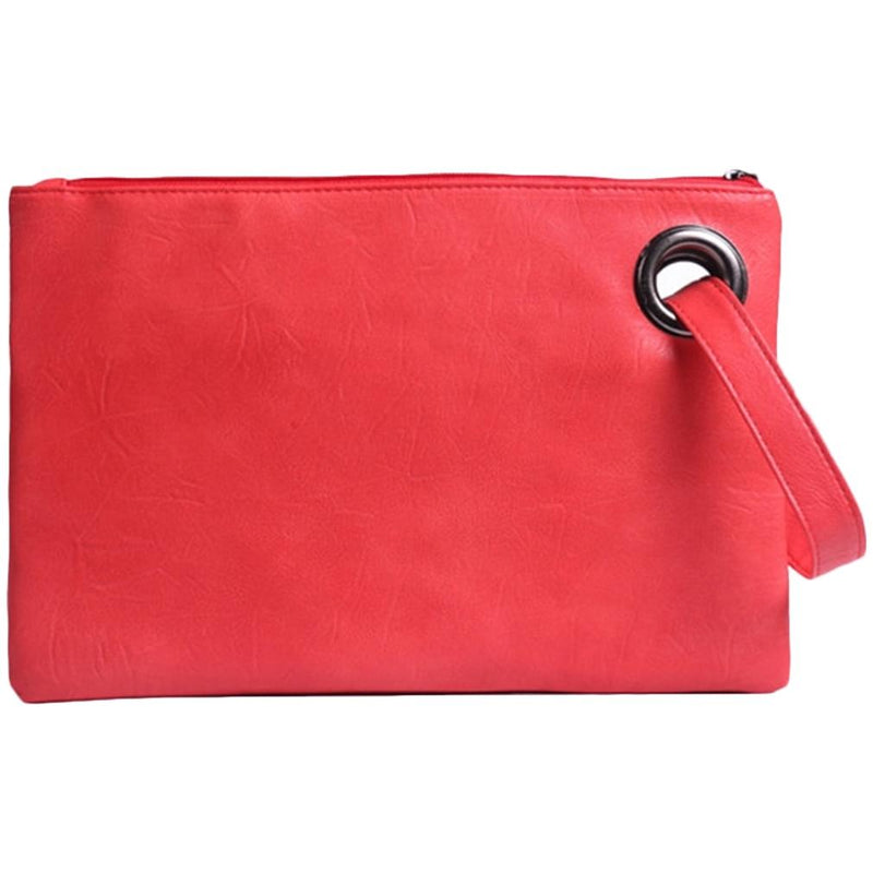Fashion Solid Women's Envelope Bag Handbags & Wallets Orange - DailySale