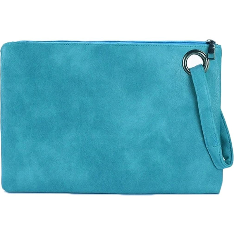 Fashion Solid Women's Envelope Bag Handbags & Wallets Turquoise - DailySale