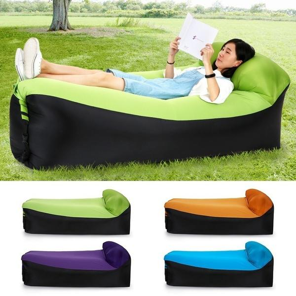 Fast Inflatable Lazy Sofa Sports & Outdoors - DailySale