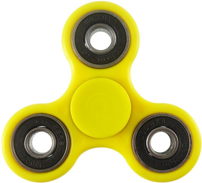 Fidget Spinner Stress and Anxiety Reliever Toy - Assorted Colors and Styles Toys & Games Yellow Regular - DailySale