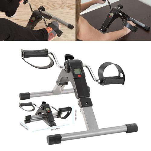 Foldable Exercise Bike Pedal Fitness Fitness - DailySale