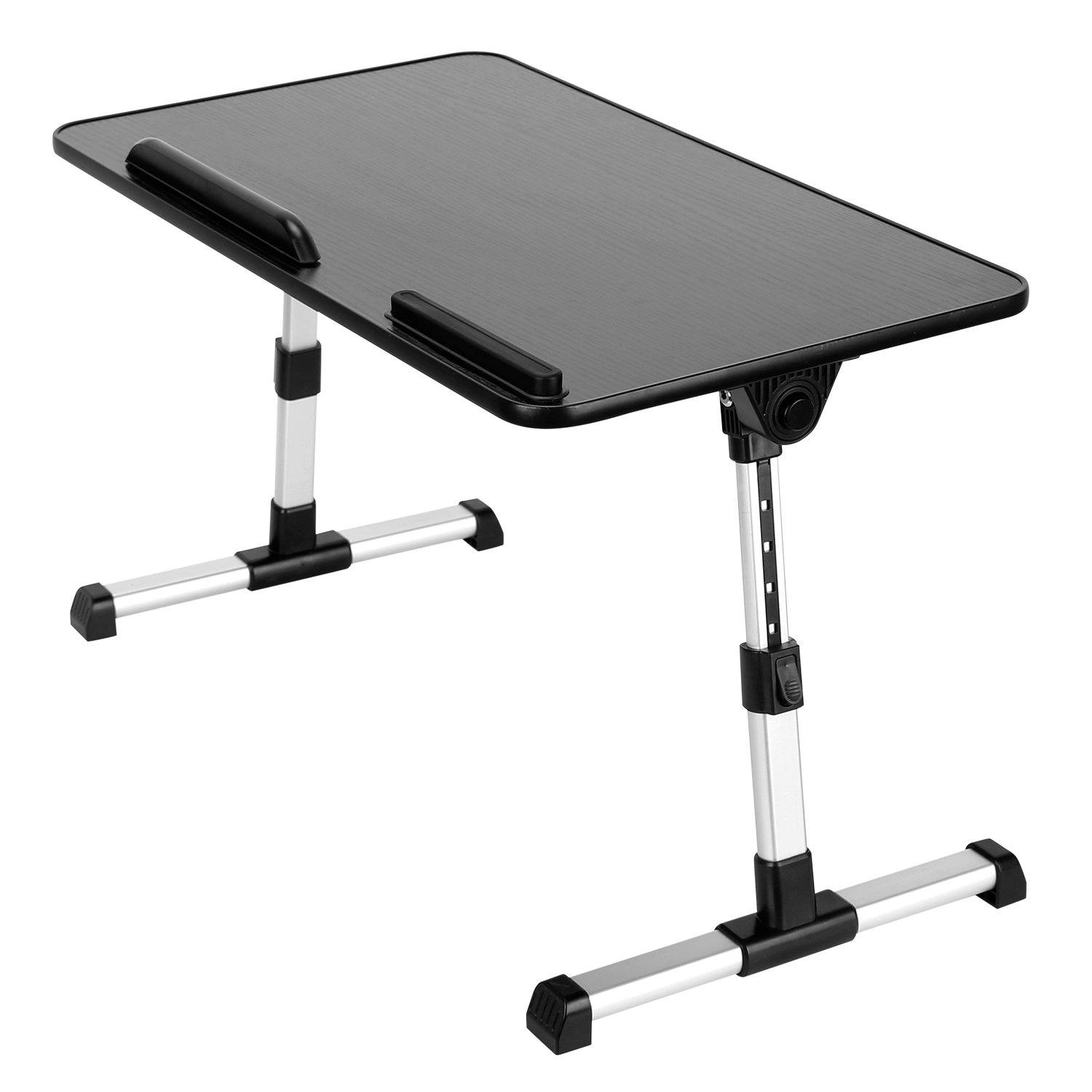 Foldable Laptop Stand with Adjustable Height Angle / Large