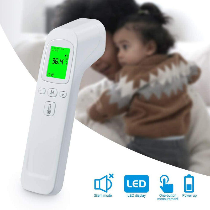 Forehead Non-Contact Digital Thermometer FTW01 Face Masks & PPE - DailySale
