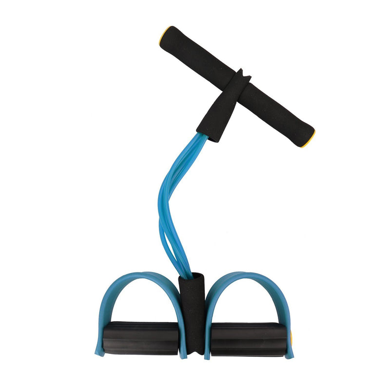 Four Tube Home Rope Pedal Exerciser Fitness Blue - DailySale