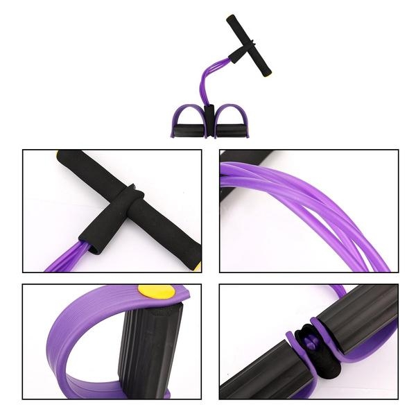 Four Tube Home Rope Pedal Exerciser Fitness - DailySale