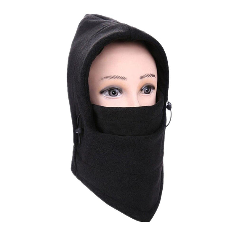 Full Cover Fleece Winter Mask - Assorted Colors Women's Apparel Black - DailySale