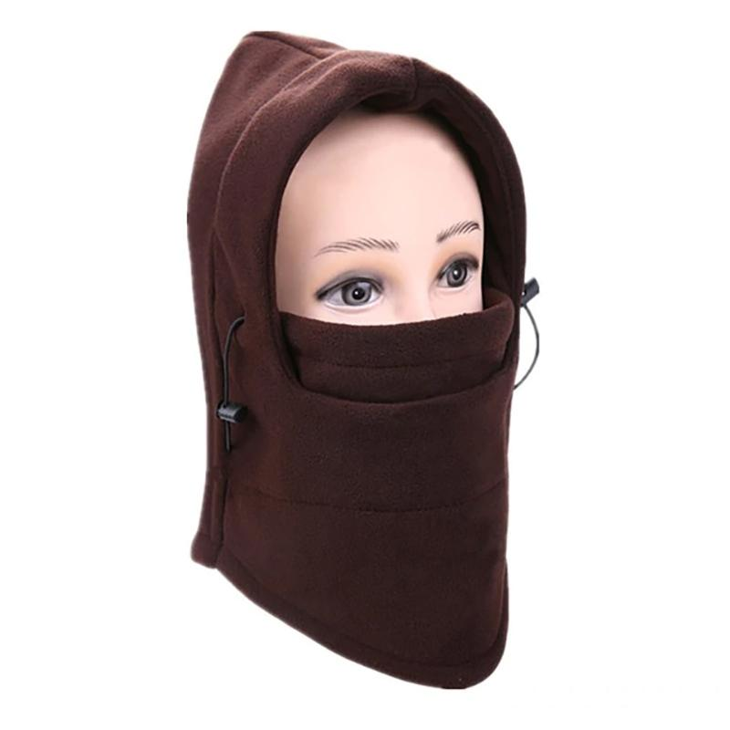 Full Cover Fleece Winter Mask - Assorted Colors Women's Apparel Coffee - DailySale