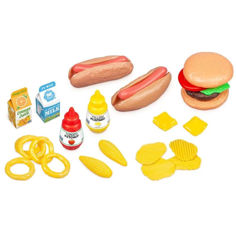 Fun Size Food Kids Playset Toys & Games Fast Food - DailySale