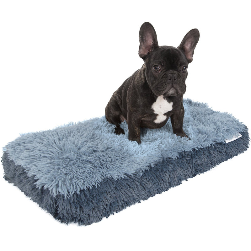 Fuzzy Pet Bed Pet Supplies S Blue - DailySale