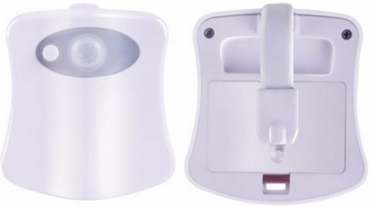 8-Color LED Sensor Motion-Activated Bathroom Toilet Light - DailySale, Inc