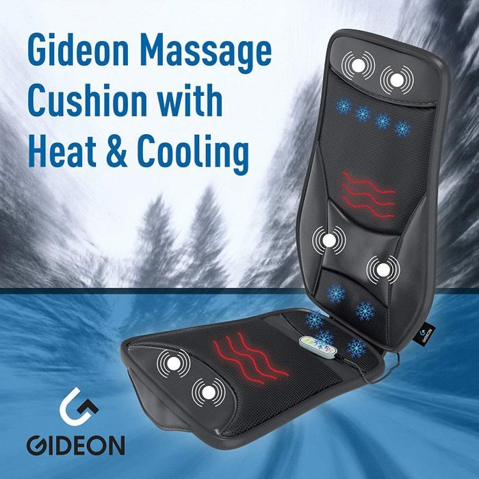 Gideon Luxury Cooling and Heating Ventilated Seat Cushion Auto Accessories - DailySale