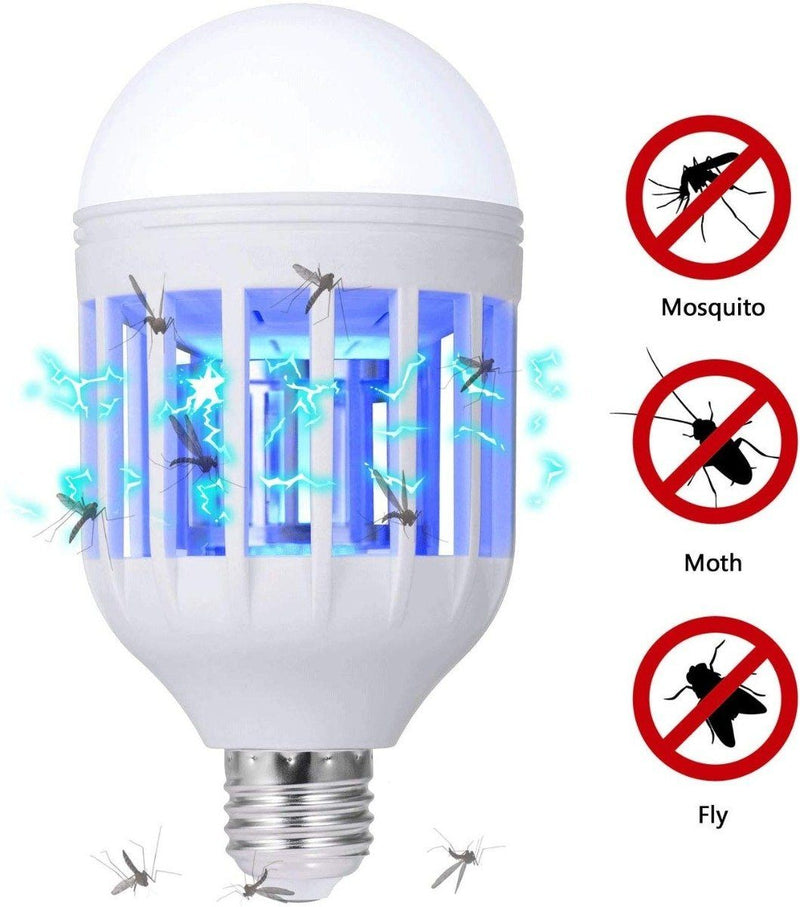 GLOUE 2-in-1 Bug Zapper and Mosquito Killer Lamp Home Lighting - DailySale