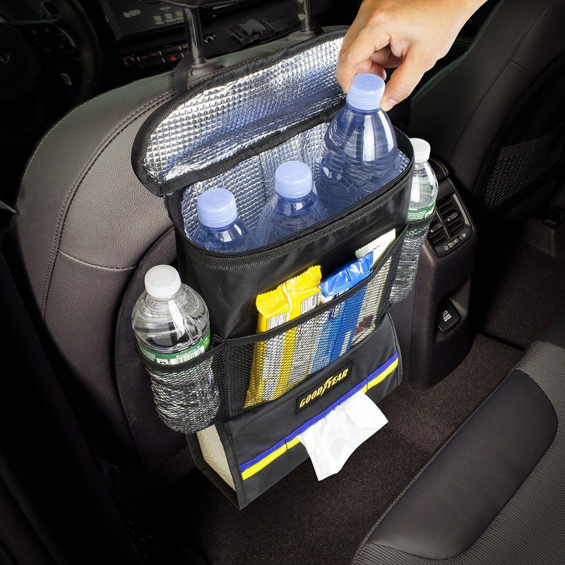 Goodyear Car Seat Organizer with Cooler Auto Accessories - DailySale