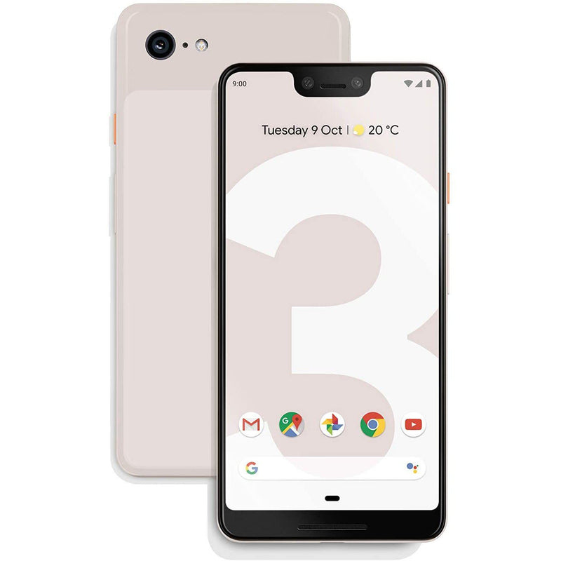Google Pixel 3 64GB Unlocked Cell Phones Pink - DailySale