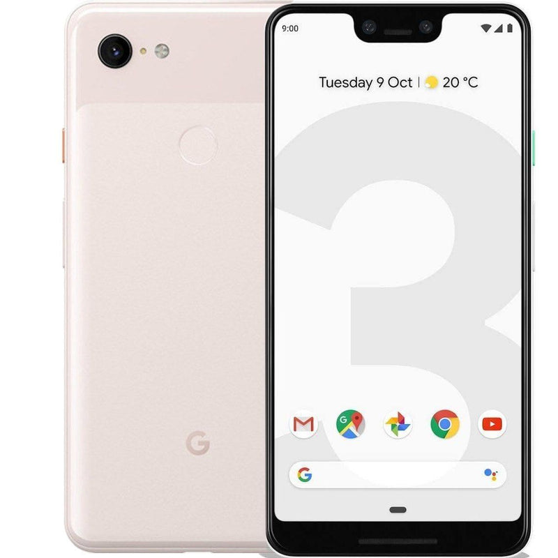 Google Pixel 3 XL Cell Phones Pink 128GB - DailySale
