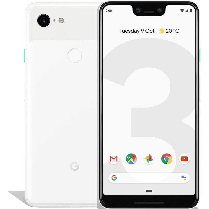 Google Pixel 3 XL Cell Phones White 64GB - DailySale