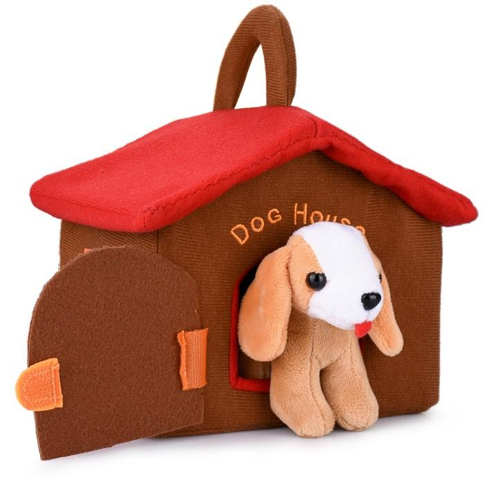 Hakol Dog House Educational Toy With 4 Squishy and Barking Puppies Playset Toys & Games - DailySale