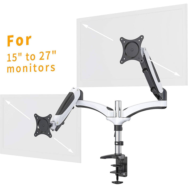 Halter Dual LCD Adjustable Monitor Stand Computer Accessories - DailySale