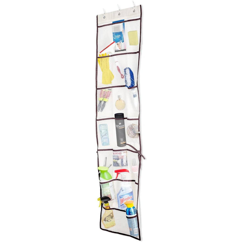 Halter Over the Door 42 Pocket Organizer Multi-Purpose Teenage Storage Solution Closet & Storage - DailySale