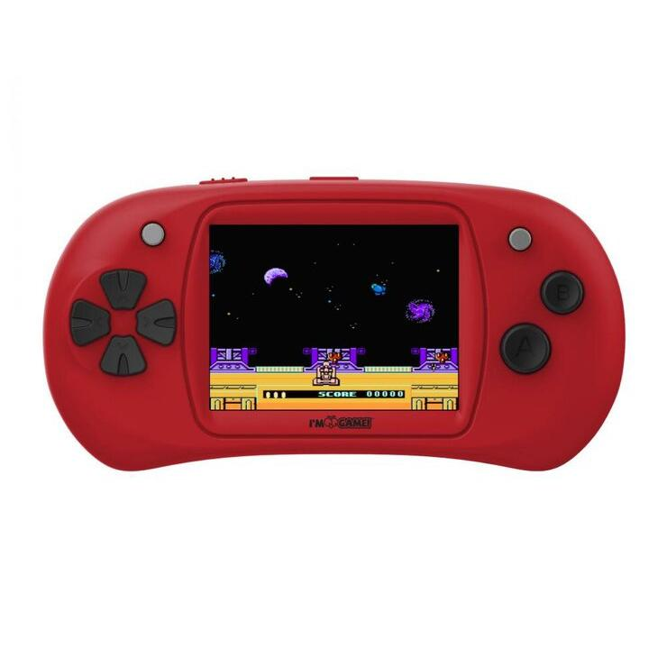 Handheld Video Game Player - 150 Games Built-In Toys & Games Red - DailySale