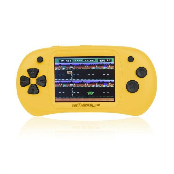 Handheld Video Game Player - 150 Games Built-In Toys & Games Yellow - DailySale