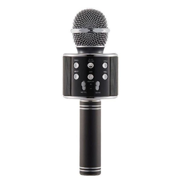 Handheld Wireless Bluetooth Microphone Everything Else Black - DailySale