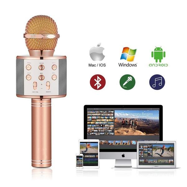 Handheld Wireless Bluetooth Microphone Everything Else - DailySale