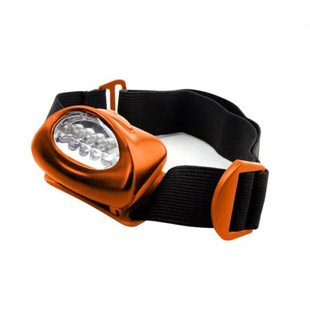 Hands Free LED Headlamp Sports & Outdoors Orange - DailySale