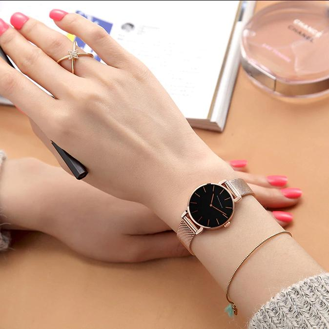 Hannah Martin High Quality Waterproof Ladies Watch Women's Accessories - DailySale