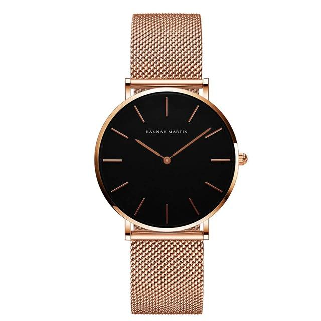 Hannah Martin High Quality Waterproof Ladies Watch Women's Accessories Type 2 - DailySale
