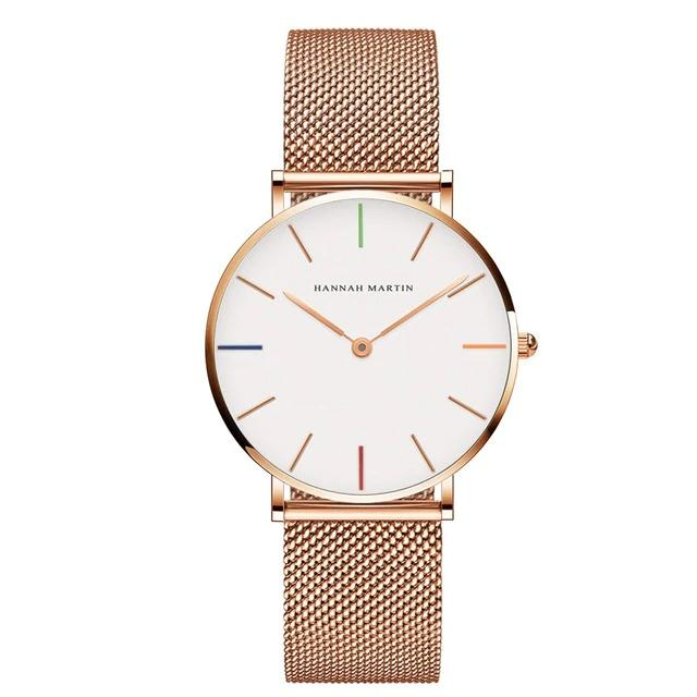Hannah Martin High Quality Waterproof Ladies Watch Women's Accessories Type 7 - DailySale