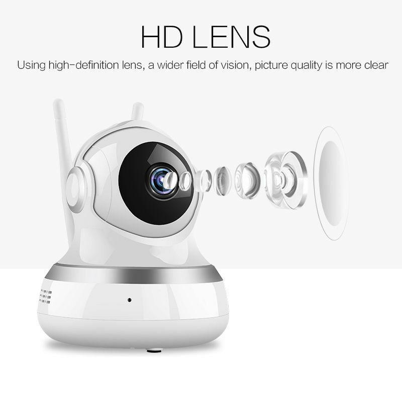HD 1080P WiFi Smart IP Camera Wireless Webcam Home Security Network Camera, TV & Video - DailySale