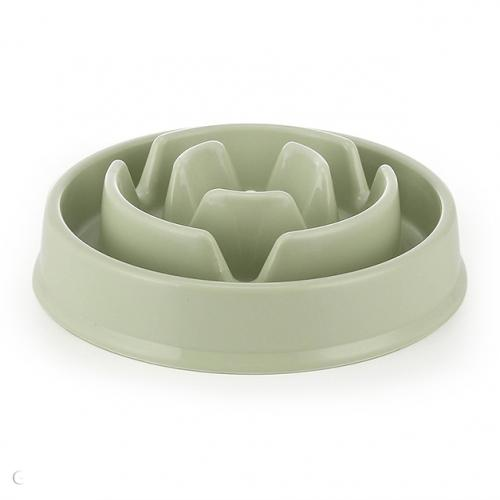 Healthy Slow Feeder Pet Bowl Pet Supplies Green - DailySale