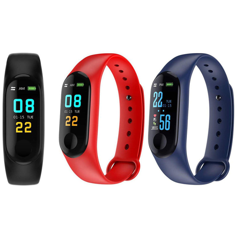 Heart-Rate and Sleep-Monitoring Activity Tracker with Color Display Gadgets & Accessories - DailySale