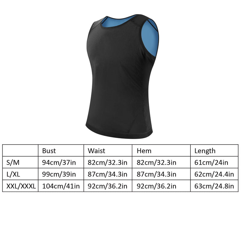 Heat Trapping Pullover Sweat Gym Vest