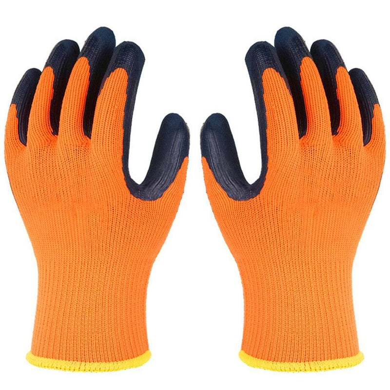 Heavy-Duty High-Visibility Cold-Weather Work Gloves Sports & Outdoors - DailySale