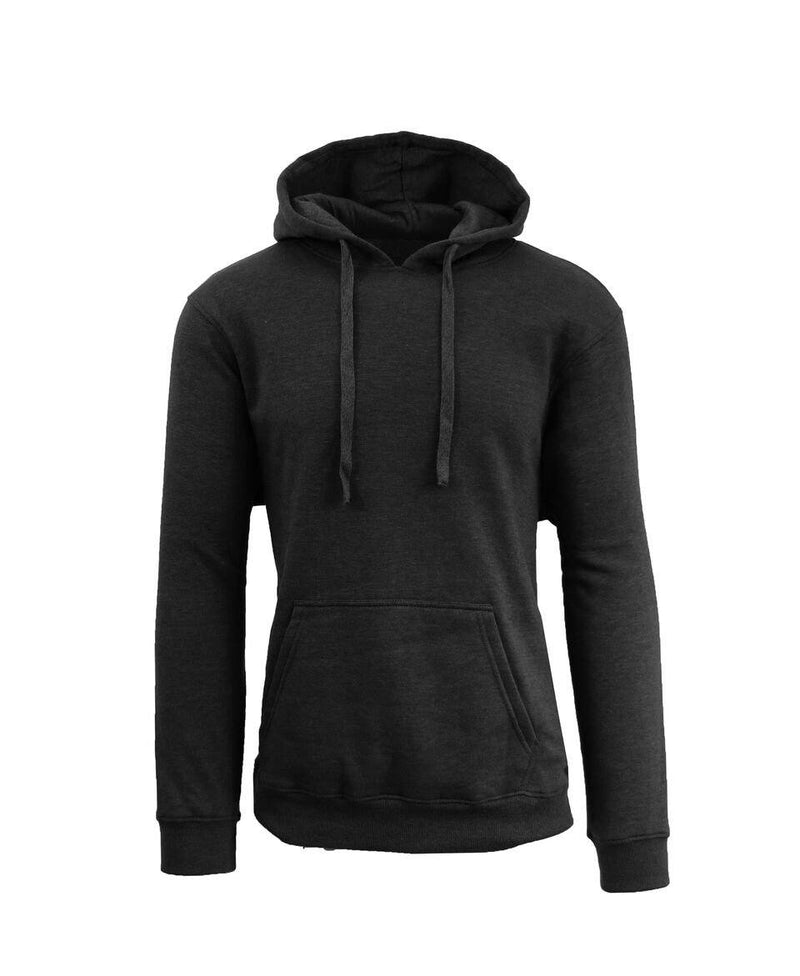 Heavy Fleece Lined Zippered or Pullover Hoodie - Size XXXL Men's Apparel Black Pullover - DailySale