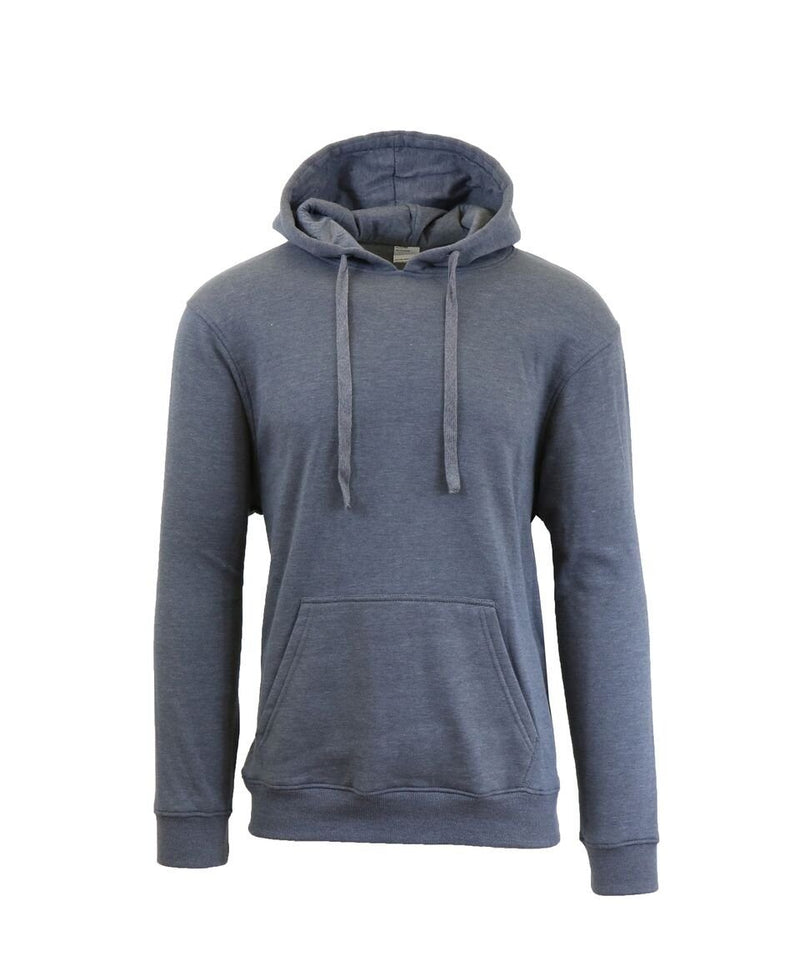 Heavy Fleece Lined Zippered or Pullover Hoodie - Size XXXL Men's Apparel Charcoal Pullover - DailySale