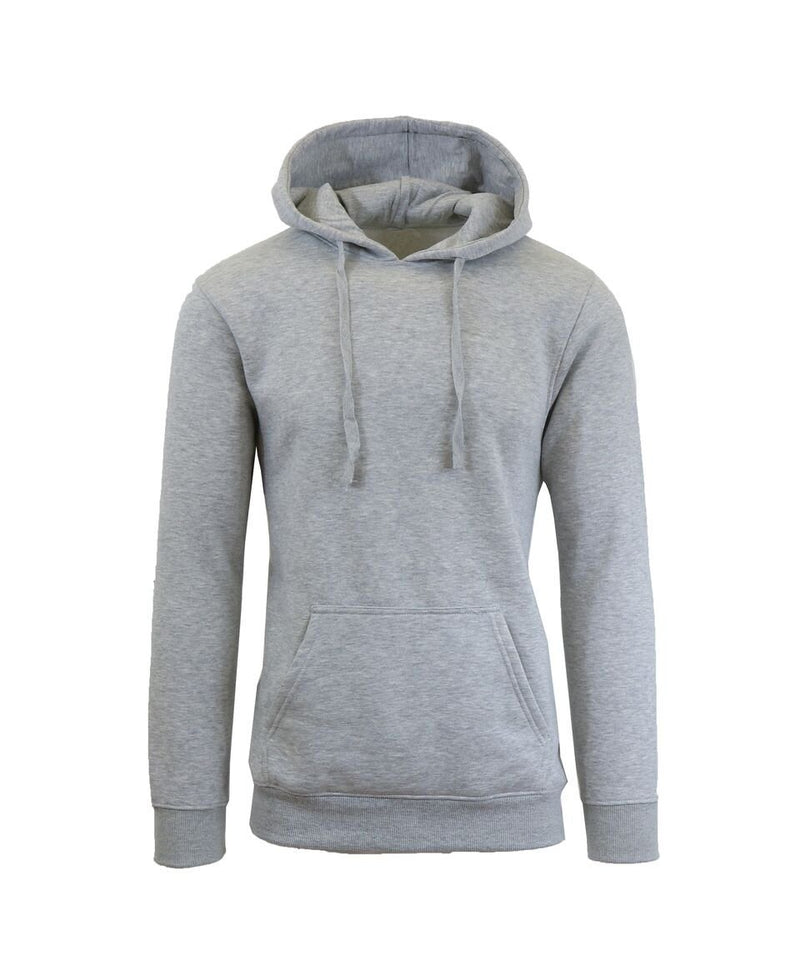 Heavy Fleece Lined Zippered or Pullover Hoodie - Size XXXL Men's Apparel Heather Gray Pullover - DailySale