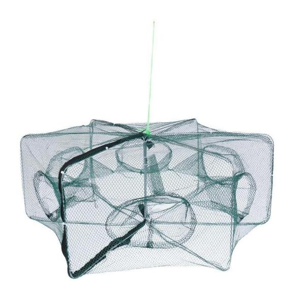Hexagonal Foldable Automatic Fishing Net for Shrimp, Crab and Fish Sports & Outdoors - DailySale