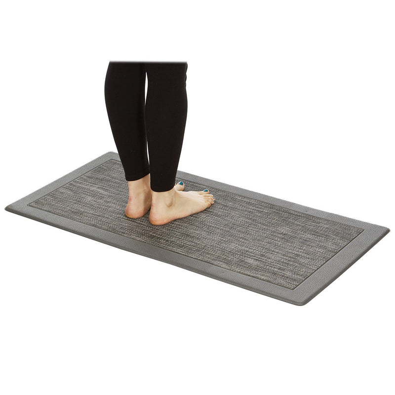 Hillside Oversized Oil and Stain-Resistant Anti-Fatigue Kitchen Mat