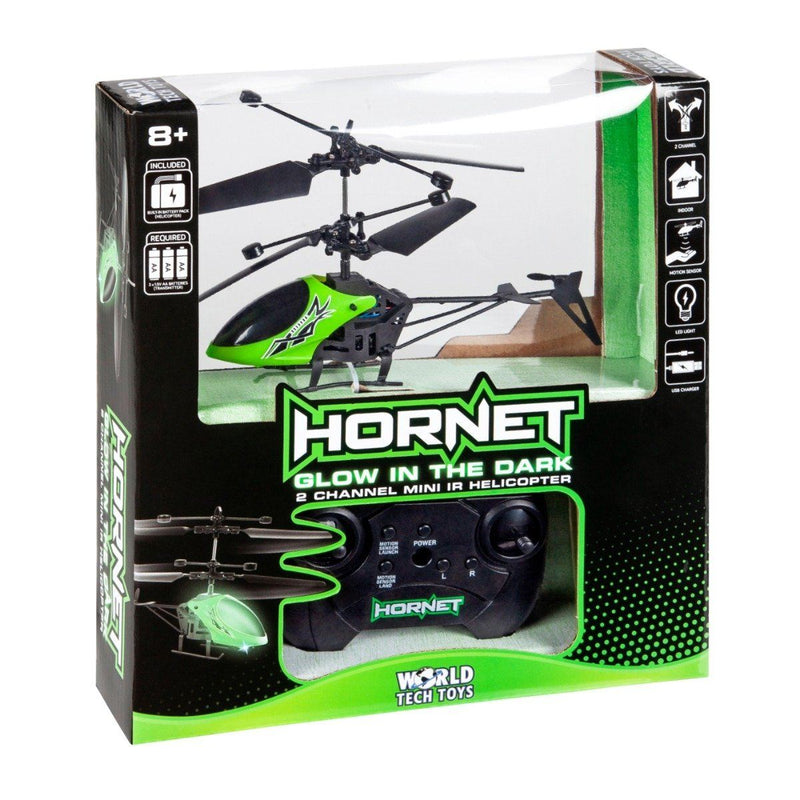 Hornet Glow in the Dark 2CH IR Helicopter Toys & Games - DailySale