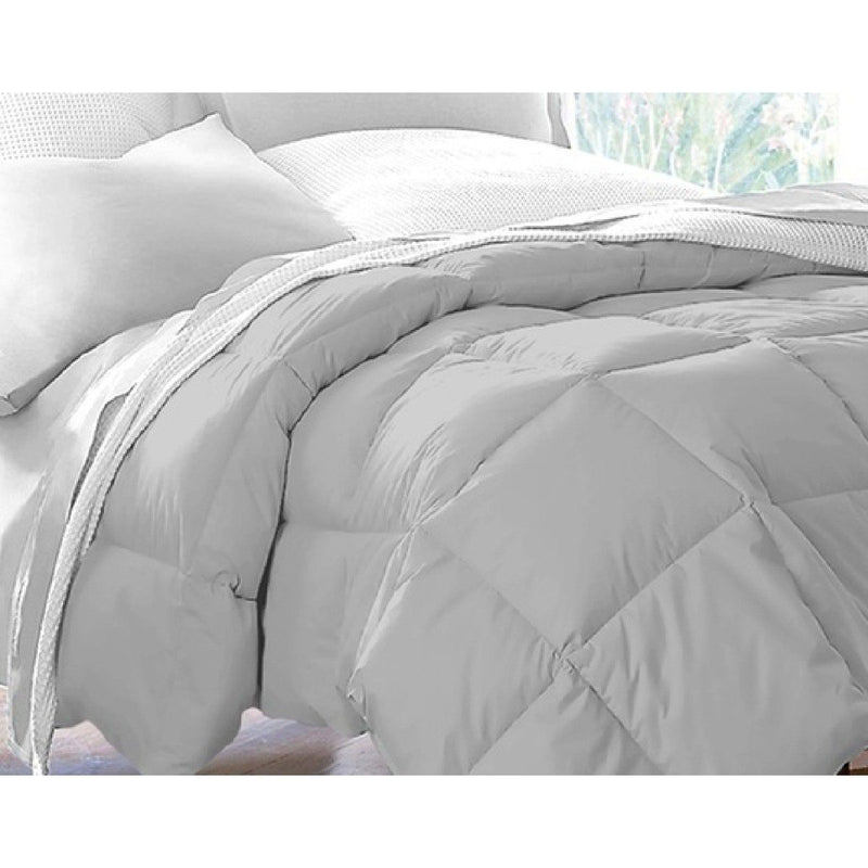 Hotel Grand All Seasons Down Alternative Comforter - Assorted Colors and Sizes Linen & Bedding King Platinum - DailySale