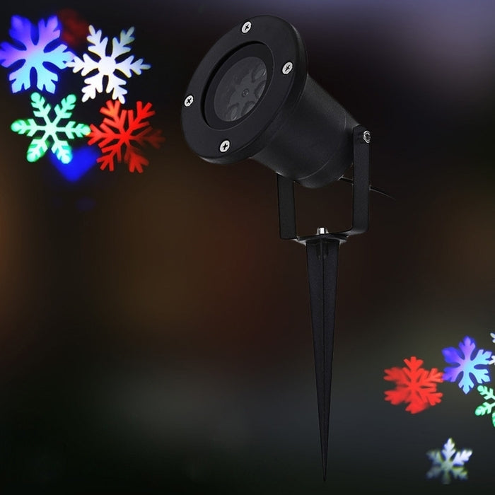 LED Christmas Moving Snowflake Lights Show Laser Projector - DailySale, Inc