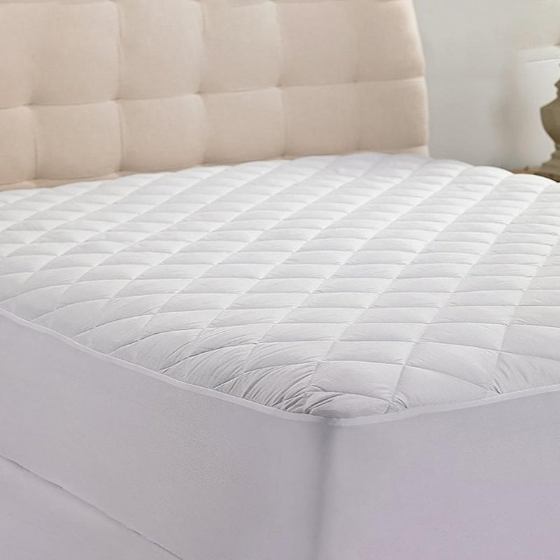 Hypoallergenic Ultimate Plush Comfort Mattress Pad Linen & Bedding Twin - DailySale